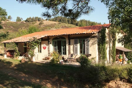 Charming cottage in beautiful, quiet Ardèche. - Ajoux - Kabin