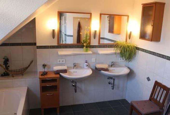 Ferienwohnung-Bracht - für 2-3 Pers - Rauschenberg - Apartemen