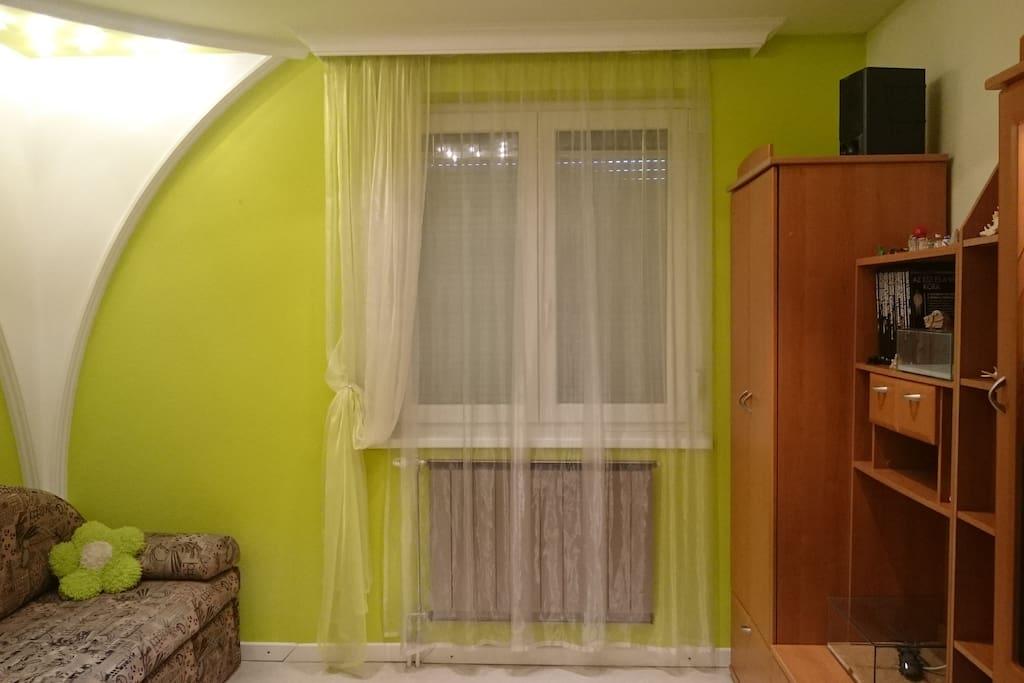 2. szoba francia ággyal