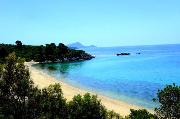 Maisonette to Sithonia sea view!!!
