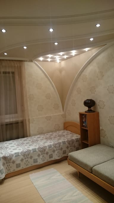 szoba 2 külön ággyal