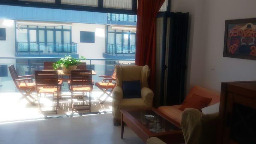 Apartamento primera línea de playa Magnifica zona - Castell de Ferro - Wohnung