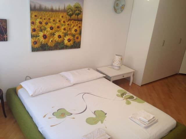 City centre huge room with bathroom and breakfast - Trento