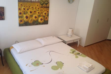 City centre huge room with bathroom and breakfast - Appartement