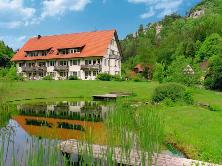 Land- und Ferienhotel Wittstaig, (Münsingen), Apartment Lautertal mit 72 qm, 2 Schlafzimmer, für maximal 5 Personen