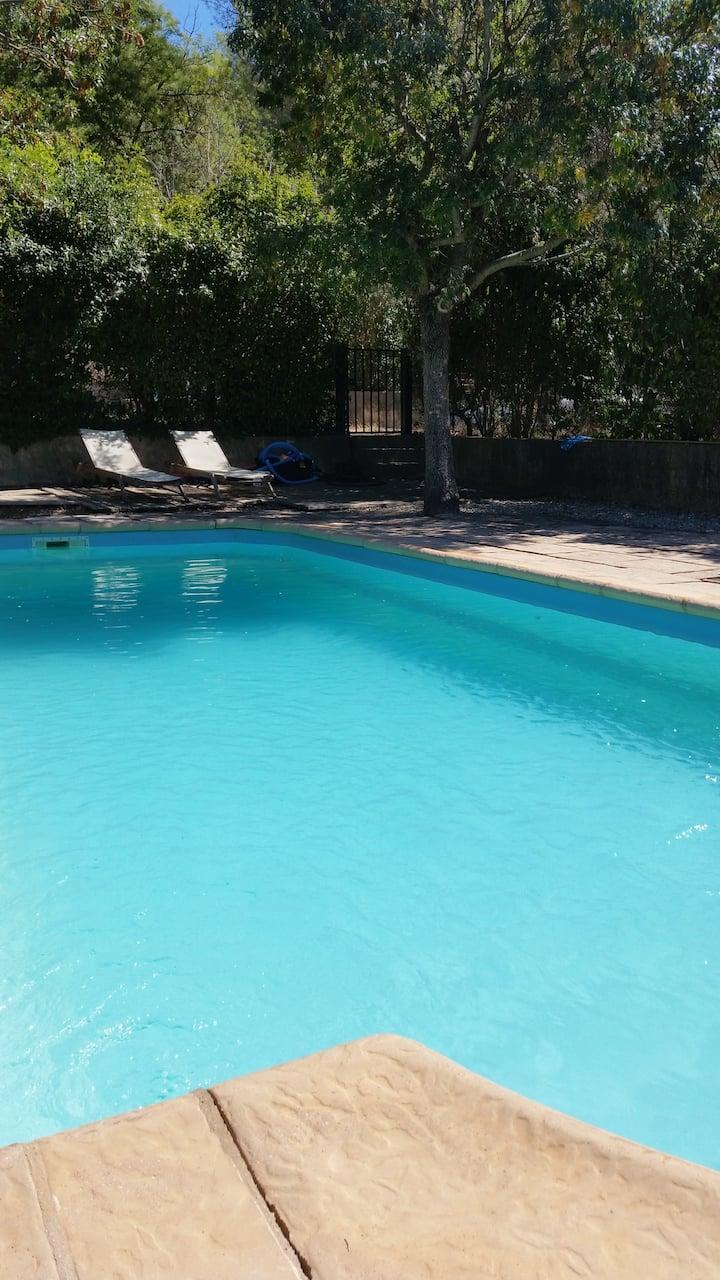 Maison avec piscine proche mer