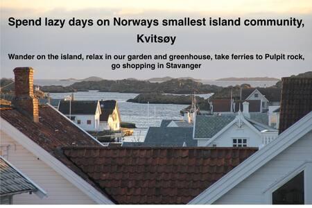 Villa on a beautiful island Kvitsøy - Kvitsøy - Villa