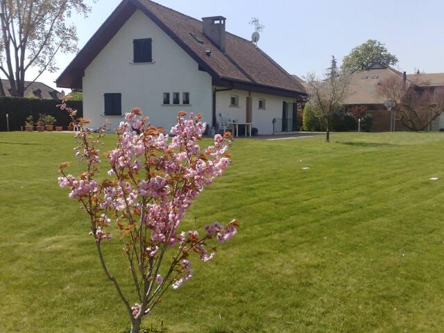 Maison avec jardin dans village - Bellevue - Casa