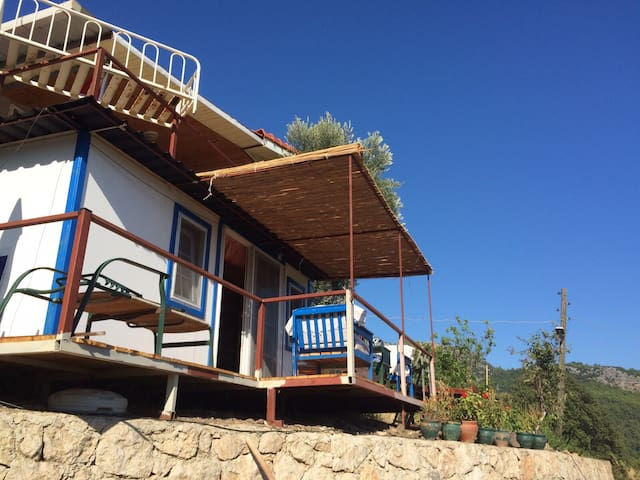 Olympos, montain hut, forrest view - Kumluca - Apartment