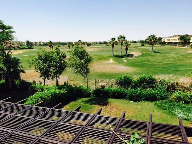 Golf coarse view