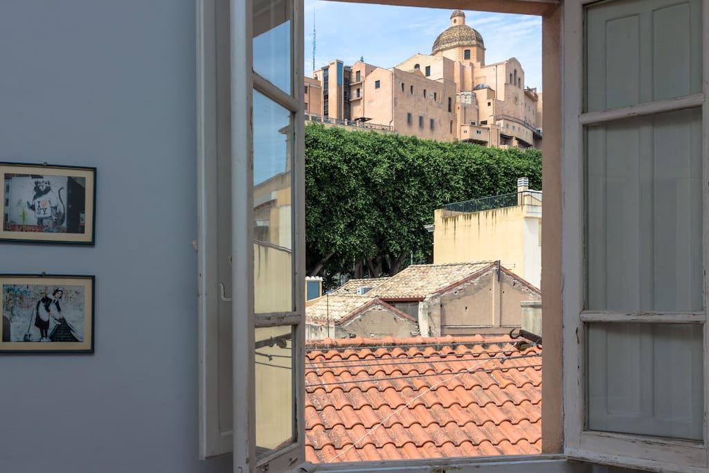 View from the kitchen 2 - Vista dalla cucina 2