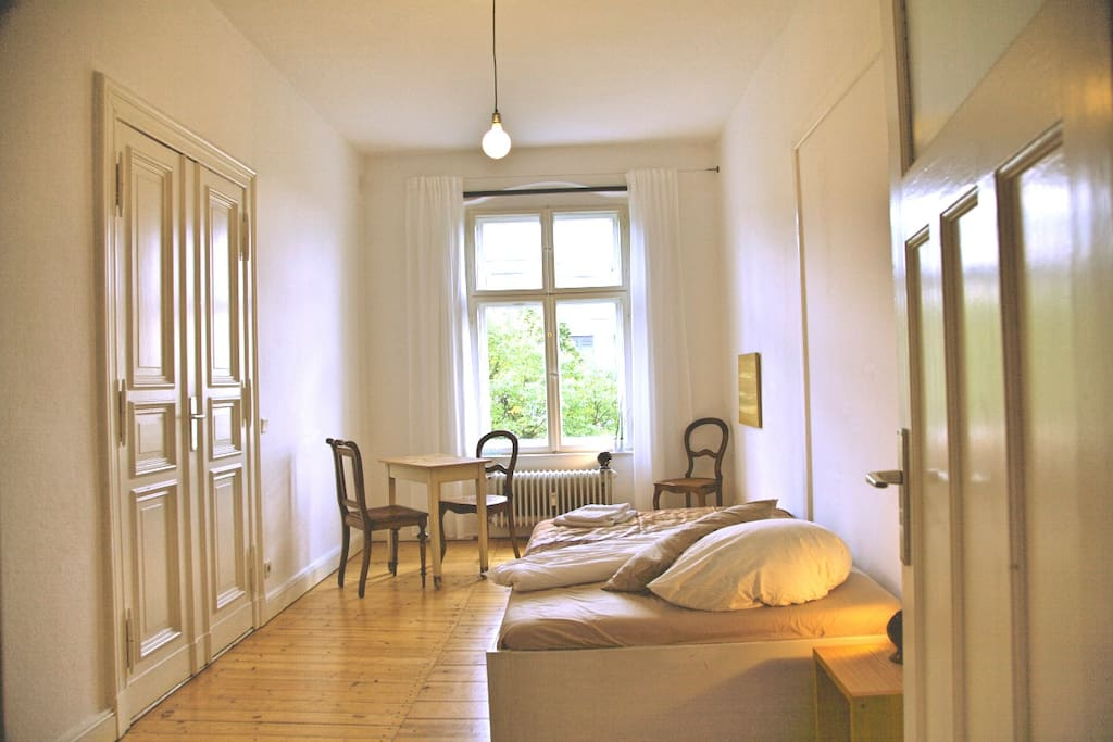 your room: view from the door