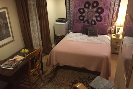 The Mimosa Room/private entrance/private bath. - Asheville - Bed & Breakfast