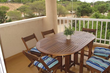 Apartment, golf, tennis, beach, wifi - Orihuela