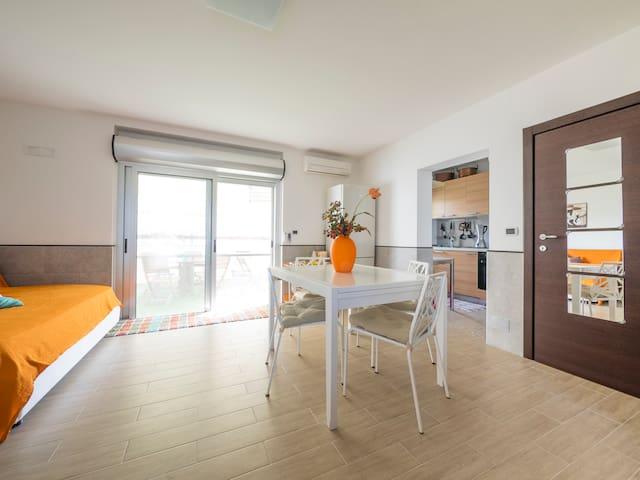 Gargano appartamento sul mare - Ippocampo - Dům