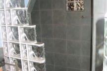 Main bath with Roman tub