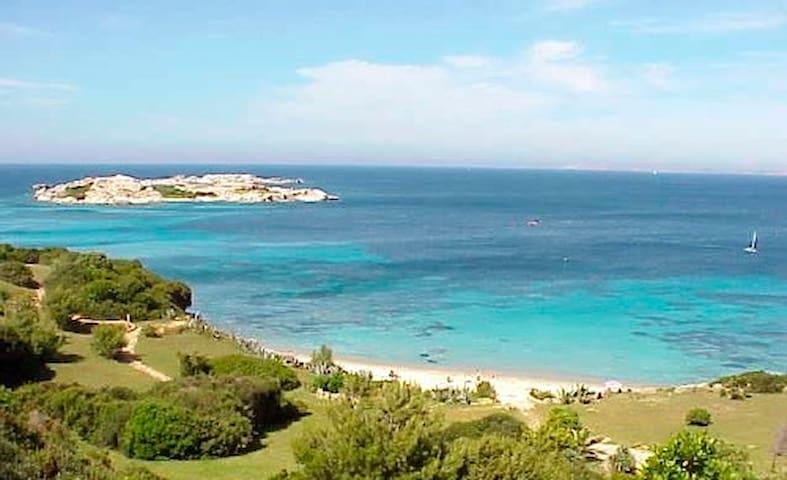 villetta con giardino 350m dal mare - Porto Pozzo - House