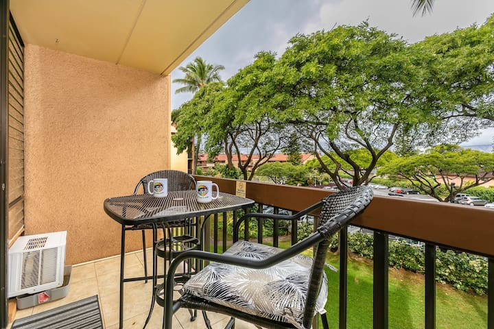 Maui Vista 2318-Lush grounds and beautiful old growth trees