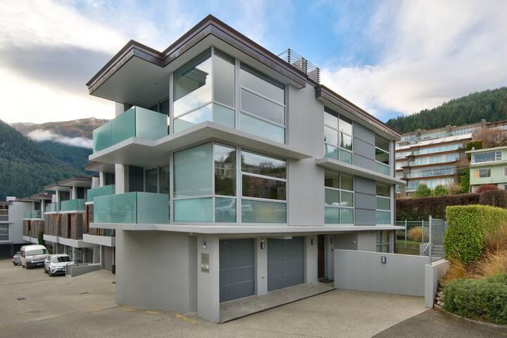 Your top floor balcony