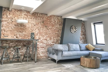 Unique designer loft in central Amsterdam