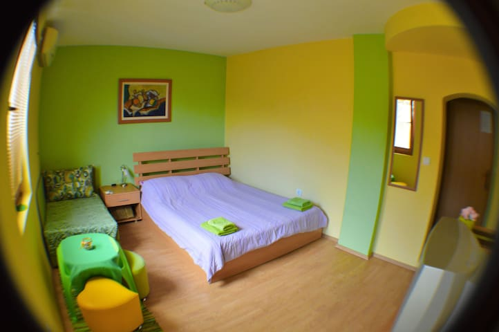Villa Ohrid- Green studio in the old town - Ohrid - Talo