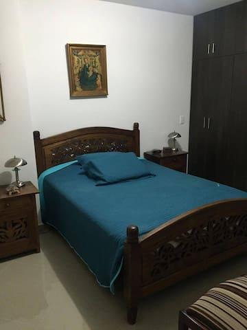 Habitación cómoda para dos personas. - Medellín - ที่พักพร้อมอาหารเช้า