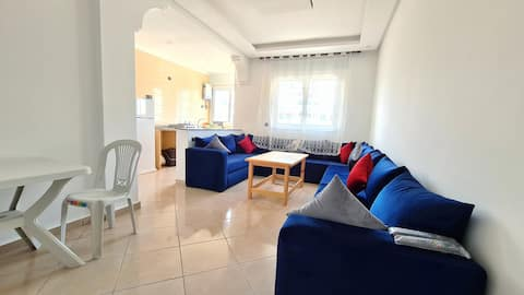 NEW Apartment 150m walk to the beach in Martil.
