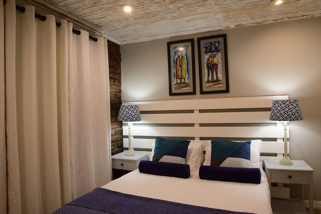 Bedroom 2 with sea views.