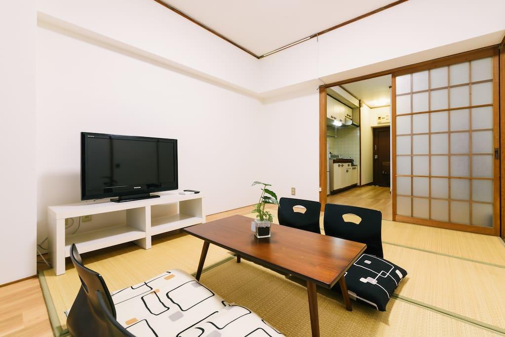 Unit B - Tatami Bed Room
