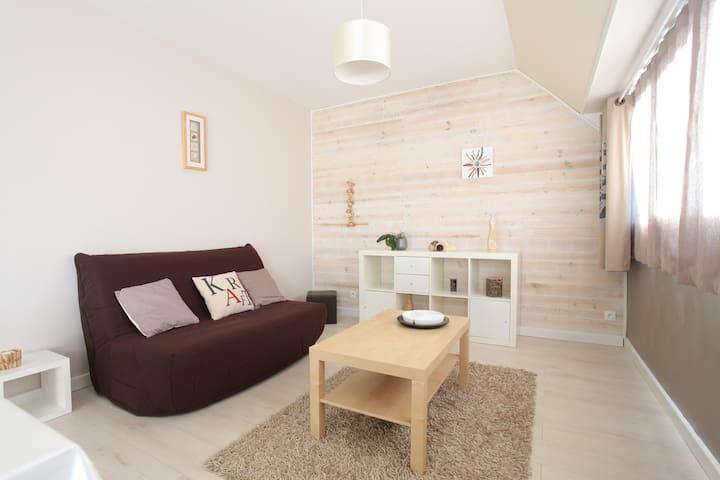 Bright, cosy and central appartment - Cherbourg-Octeville - Huoneisto