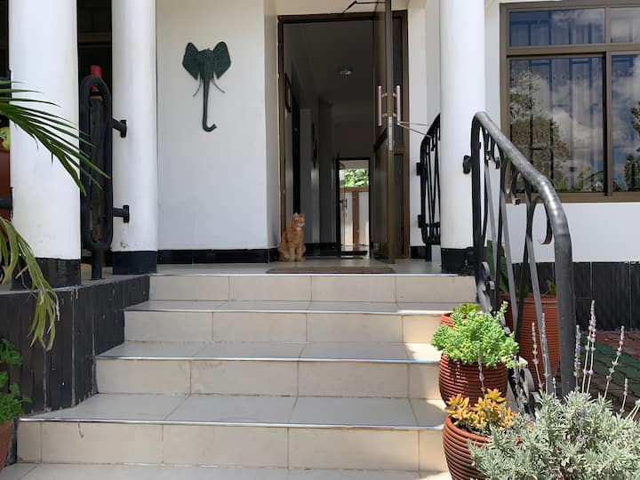 Peaceful location surrounded by wildlife Arusha
