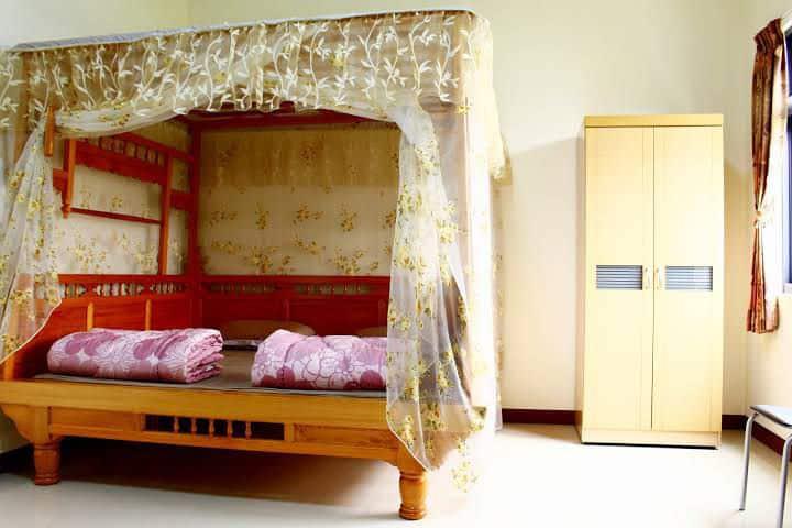 金湧藝術休閒農莊/美濃客家經典八腳床 雙人房