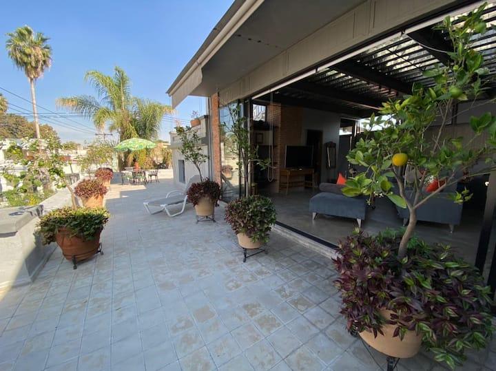 Loft privado en Casa Fuchs con hermosa terraza