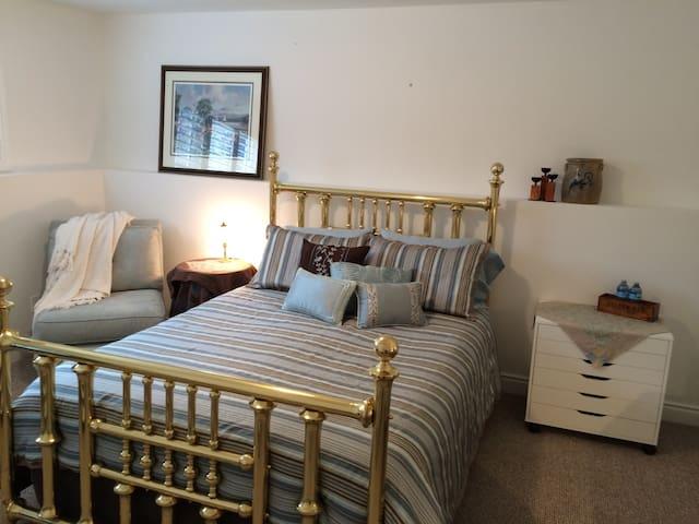 Romantic master bedroom sanctuary