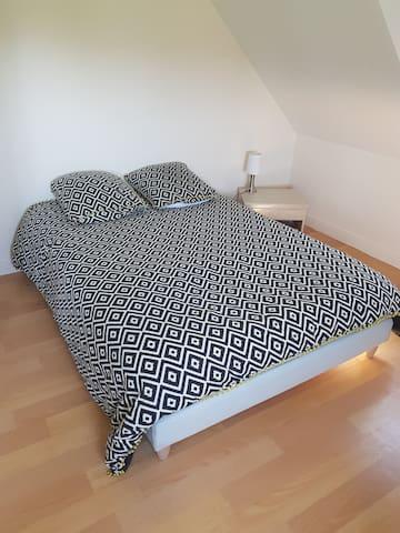 Chambre cosy au coeur de la campagne Normande