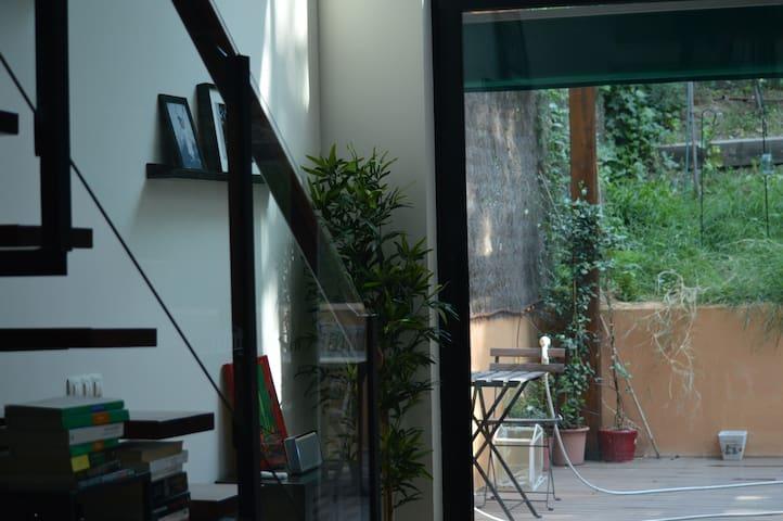 Loft moderno totalmente equipado y jardin grande. - San Sebastián de los Reyes