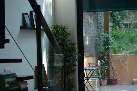 Loft moderno totalmente equipado y jardin grande. - San Sebastián de los Reyes - Loteng