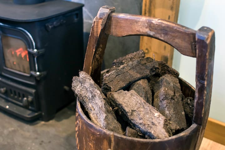 Peat for the fire