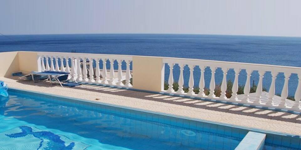 Villa,astonishing view to the sea - Achlia - Villa