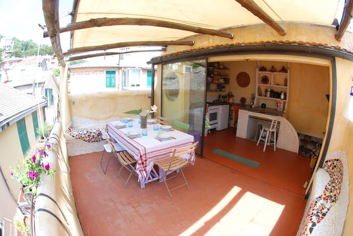 Beautiful TerraceHome CinqueTerre