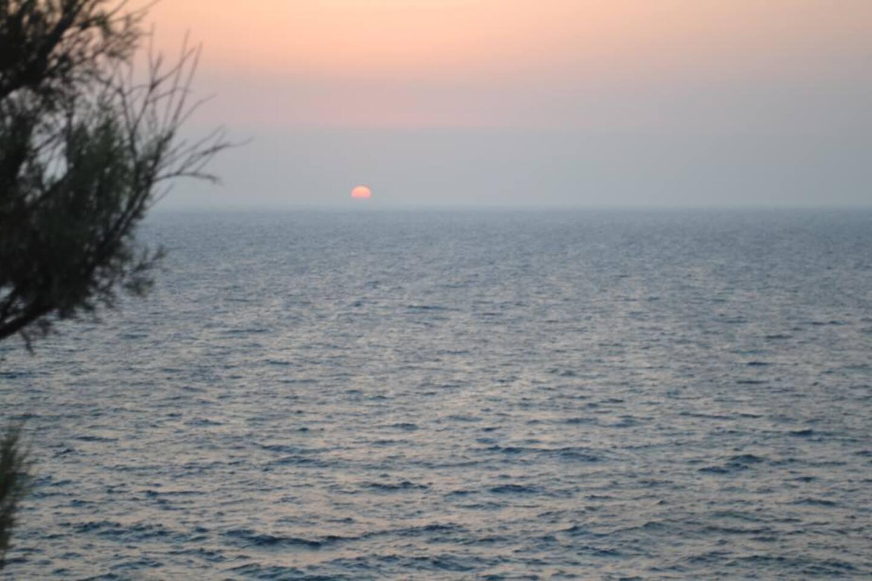 Lefkos sunset
