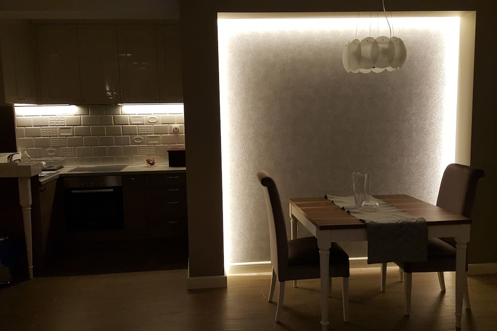 Lighting design is extensive and allows you to create your own mood