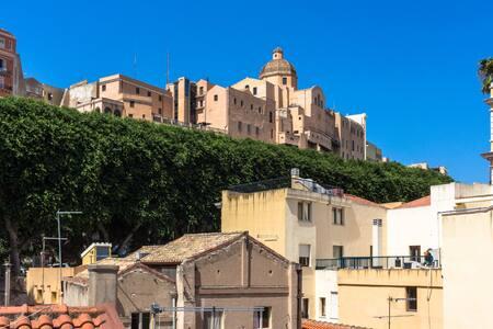 Historical palace in Villanova - Cagliari