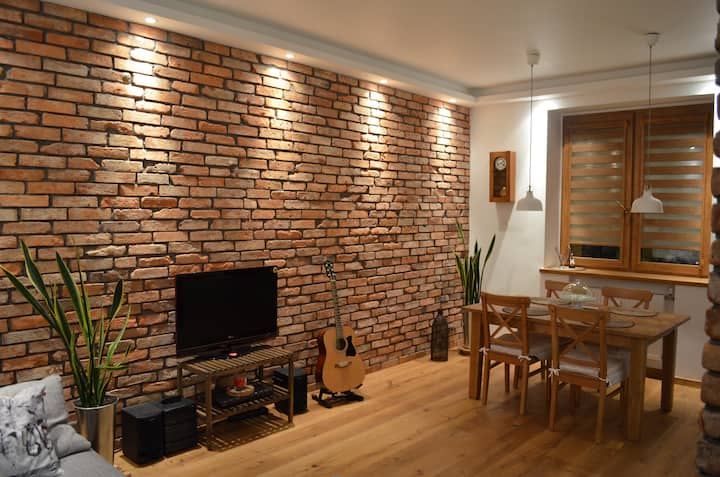 Brick apartment in Gdynia center