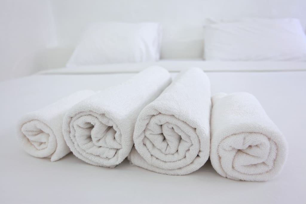 Towels and bed linen included in the rent.
