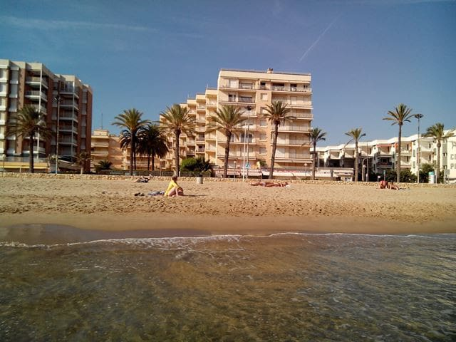 CAPACIOUS APARTMENT AT THE BEACH