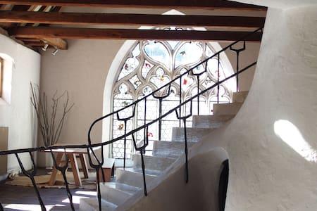 Cour de l'Abbaye (4 chambres + cuisine) - Andlau