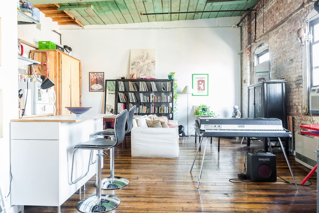 Beautiful Williamsburg Artist Loft Apartments For Rent