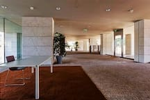 Our reception start's at the Large Entrance Hall.