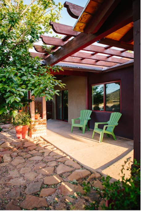 Your personal private patio.